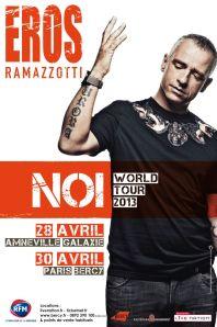EROS RAMAZZOTTI - Tournée 2013 SM