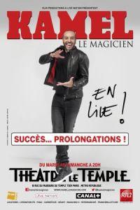 KAMEL LE MAGICIEN - Visuel prolongationsSMall