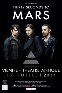 THIRTY SECONDS TO MARS - Théâtre Antique de Vienne, 17 juillet 2014 small